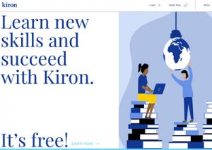 Kiron Campus www front page