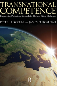Book cover: Transnational competence